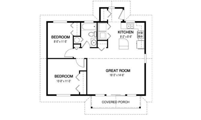 Simple House Floor Plan Measurements Chase