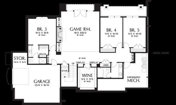 Simple House Open Floor Plan Rambler Monarch Plans Home