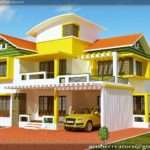 Simple House Plans Kerala Model Duplex