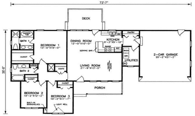 Simple House Plans Square Foot Feet
