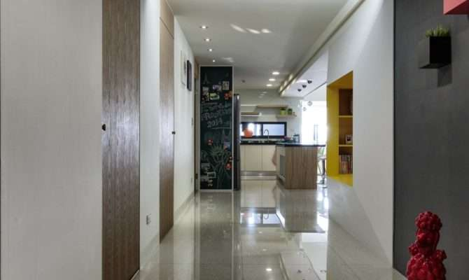 Simple Modern Color Decoration Creating Interior