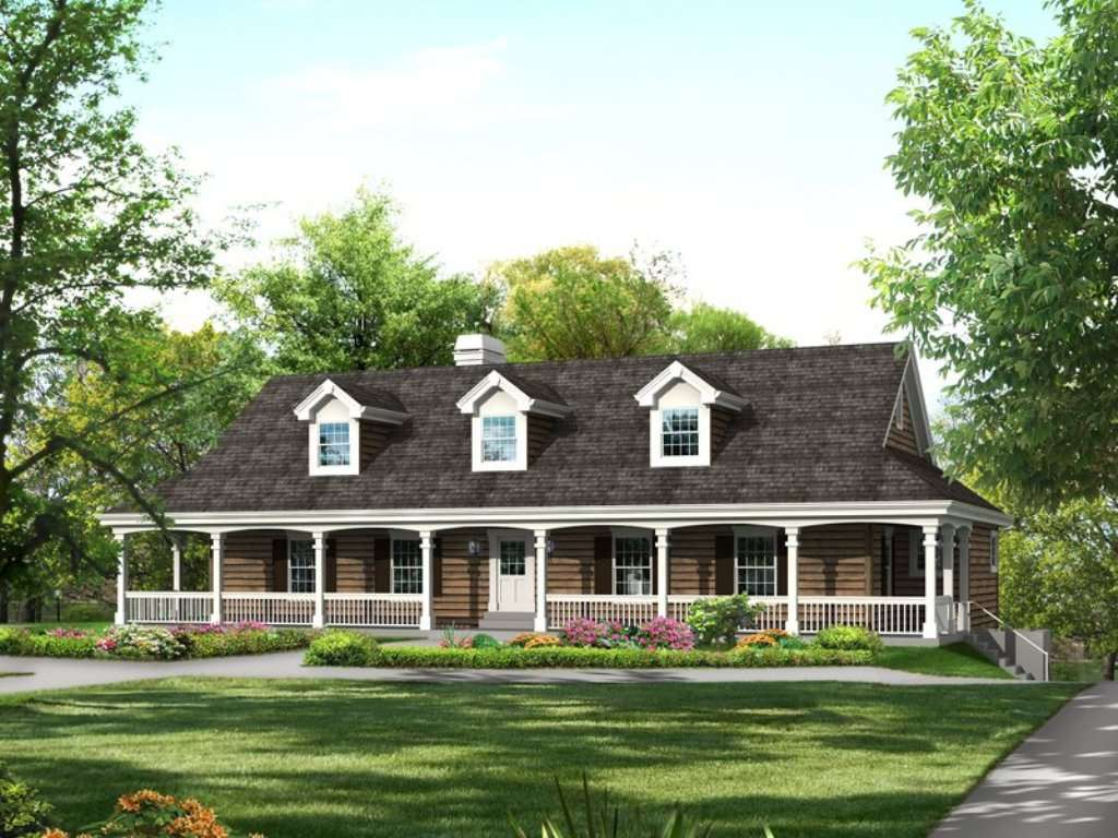 Simple Modern Country House Plans Design French