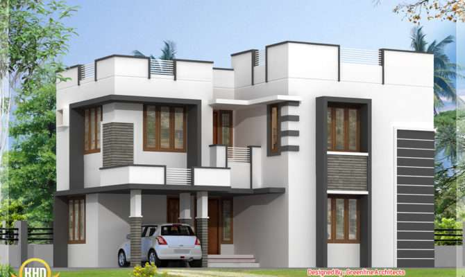 Simple Modern Home Design Bedroom Architecture House Plans
