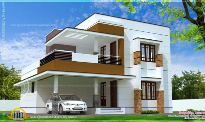 Simple Modern Home Design Square Feet Kerala