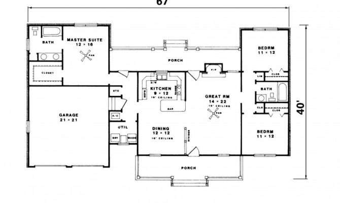 Simple Ranch House Floor Plans Luxury