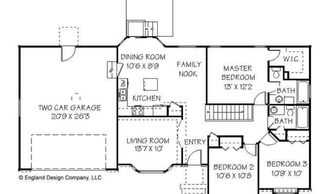 Simple Ranch House Plans Unique