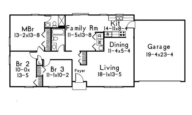 Simple Ranch House Plans Weatherby Style Home Plan