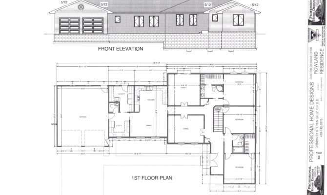 Simple Rectangular House Floor Plans