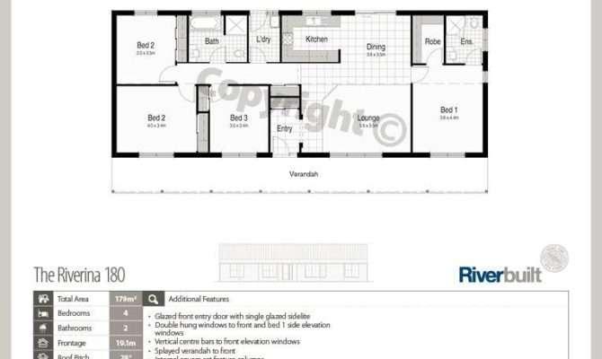 Simple Rectangular House Plans Homes Floor