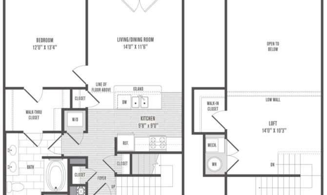 Simple Split Bedroom Floor Plans Also Ranch Plan Modern