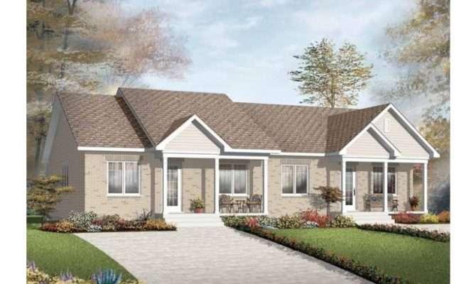 Simple Split Level Duplex Hwbdo New American Multi House