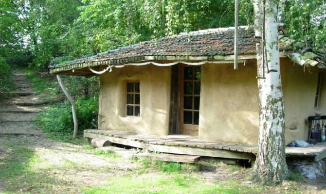 Simple Straw Bale Home Germany One Pembrokeshire Much