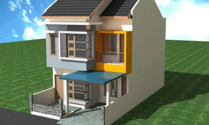 Simple Two Story House Design