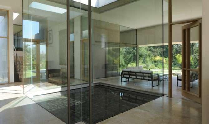 Simple Yet Beautiful Chile House Design Casa Curamavida Izquerdo