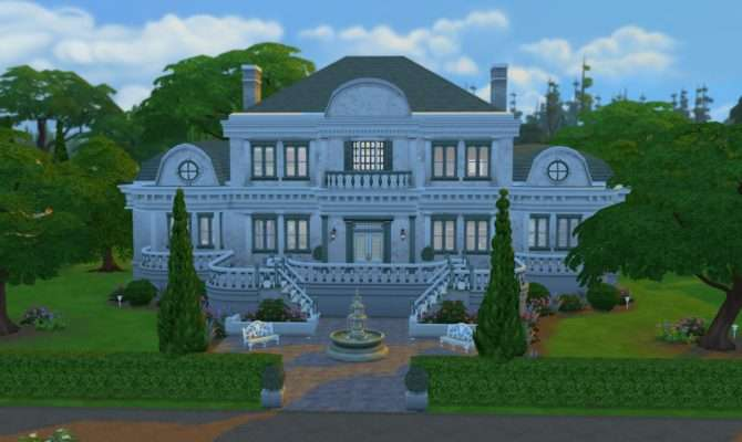 Sims Blog Bel Aire Mansion Ruth Kay