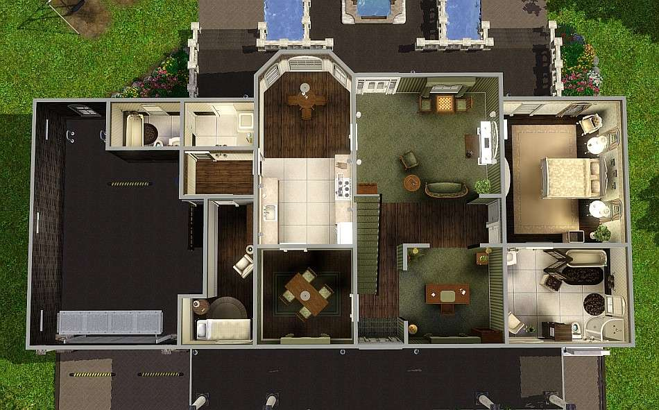 Sims Blog Brown Sugar Generation House Romagi