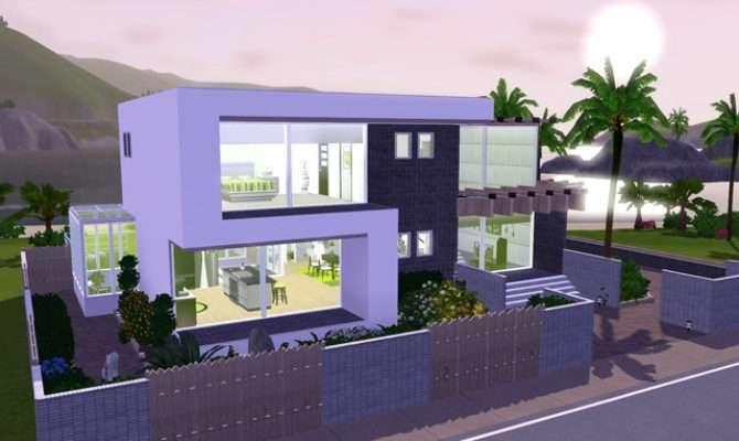 Sims Blog Frame Modern Anjubee