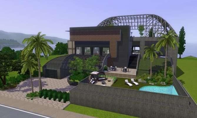 Sims Blog Simple Modern House Bangsain