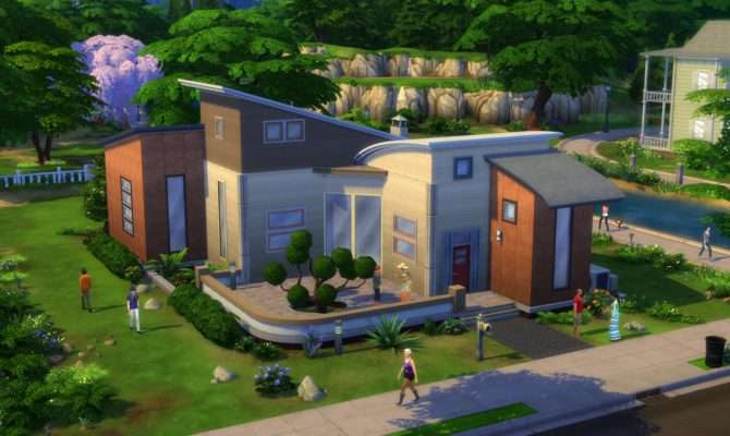 Sims Build Mode House