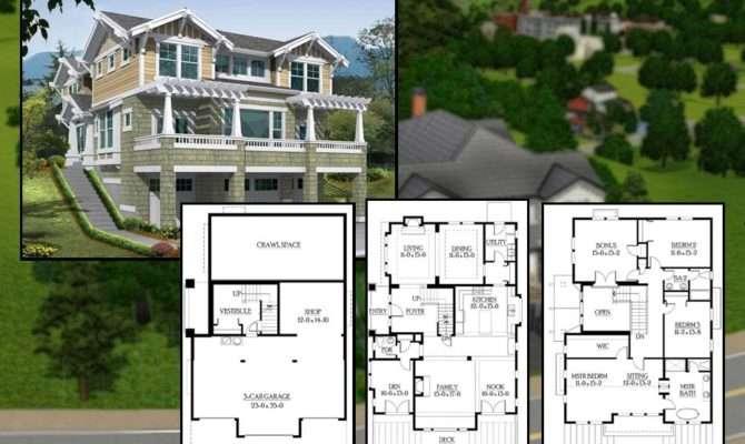 Sims House Blueprints