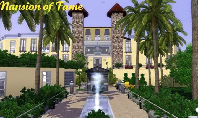Sims House Building Mansion Fame Walkthrough