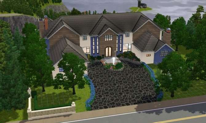 Sims House Building Millionaire Mansion Youtube