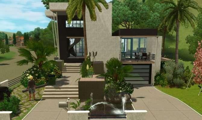 Sims House Building Moderna Villa Dutchsims