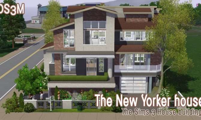 Sims House Building New Yorker Speed Build