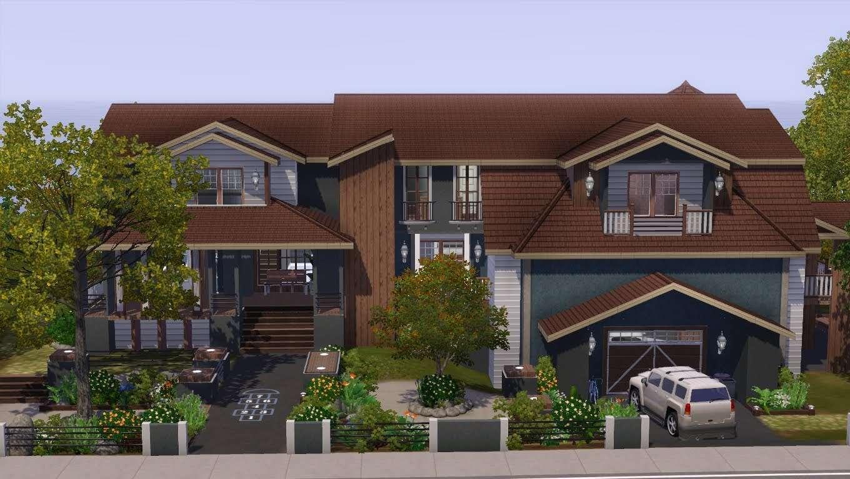 Sims House Building Saddle Stone Youtube