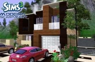 Sims House Designs Modern Escarpment Youtube