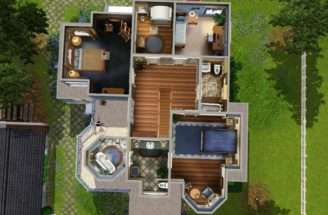 Sims House Floor Plans Mod Hummingbird