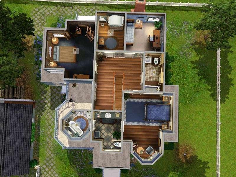 Sims House Floor Plans Mod Hummingbird