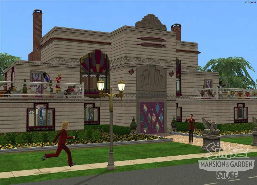 Sims Mansion Garden Stuff