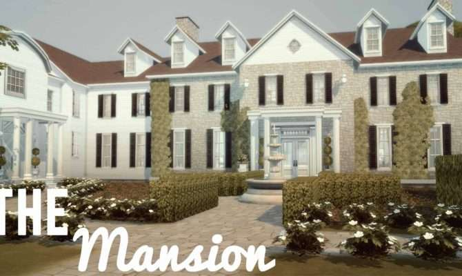 Sims Mansion Unique House Building