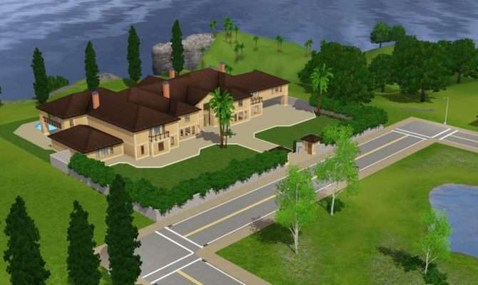 Sims Mansions Homes