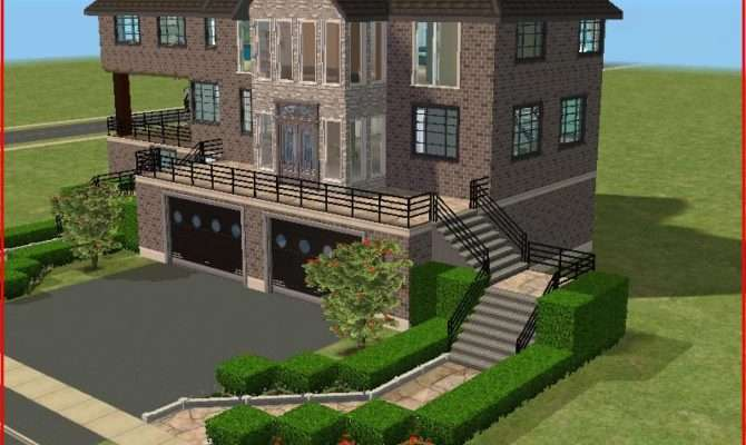 Sims Mansions Mod Wisconstan Mansion Awesome Large