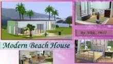 Sims Modern Beach House