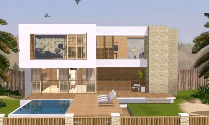Sims Modern Hollywood House Youtube