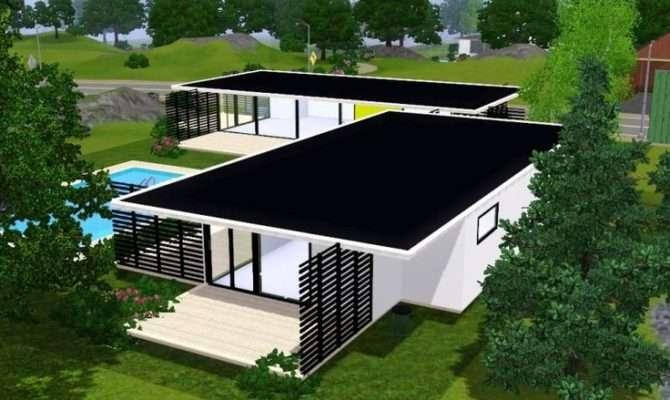 Sims Modern House Fidji Houses