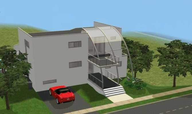 Sims Modern Houses