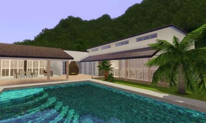 Sims Palm Mansion Youtube