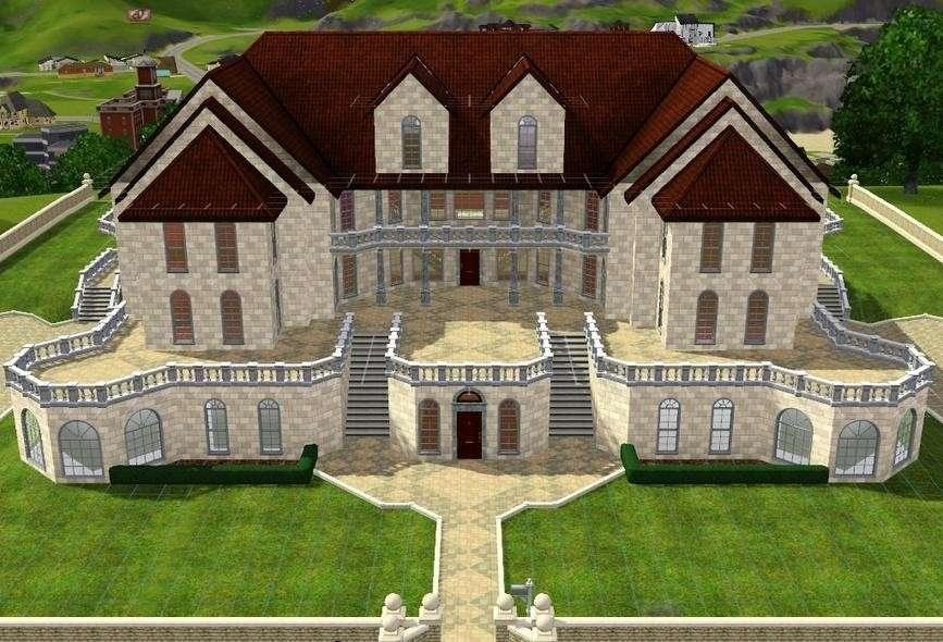 Sims Room Ideas Mansion Big House Floor Plans Our Garden