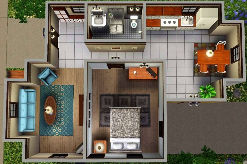 Sims Starter House Plans Mod Esims Quot