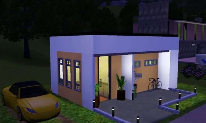 Sims Very Small Modern House Youtube