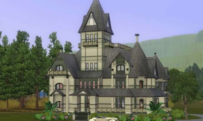 Sims Victorian House Styles Style Design