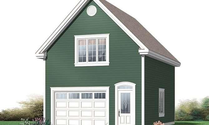Single Car Garage Apartment Plans