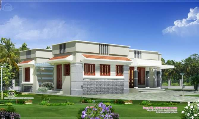 Single Floor Budget Home Design Feet Kerala
