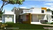Single Floor Contemporary House Design Indian Plans