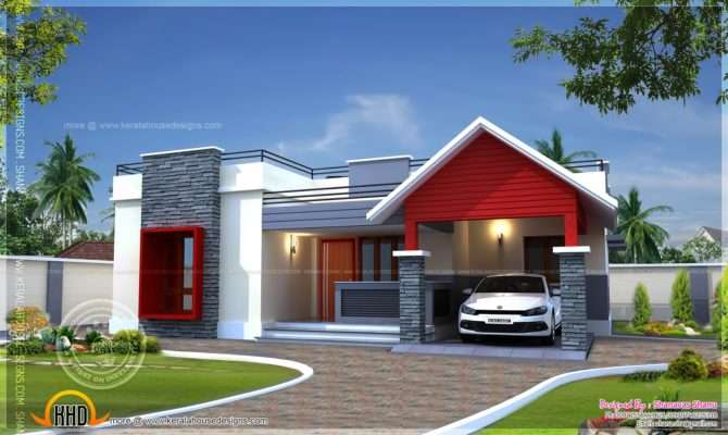 Single Floor Home Plan Square Feet Kerala
