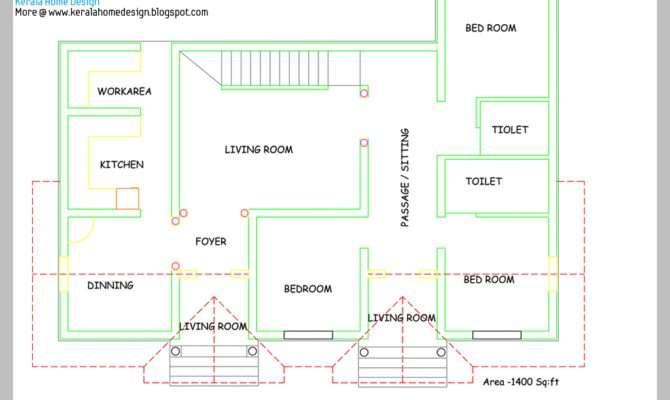 Single Floor House Plan Elevation